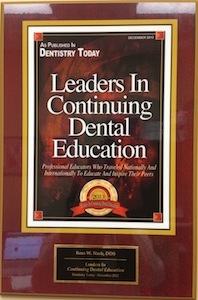 Leaders in Continuing Dental Education Award