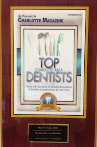 Top Charlotte Area Dentists Award